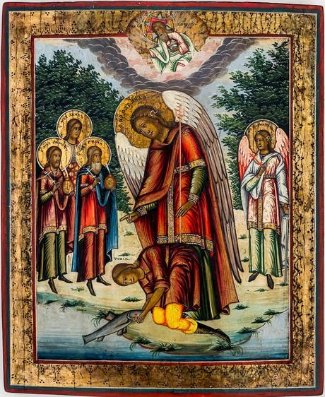 Erzengel Raphael und der hl. Tobias / Archangel Raphael and St. Tobias